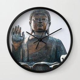 Tian Tan Buddha Wall Clock