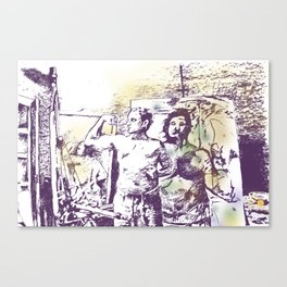 Manly x3 Canvas Print