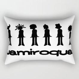 Buffalo Man - Jamiroquai Rectangular Pillow