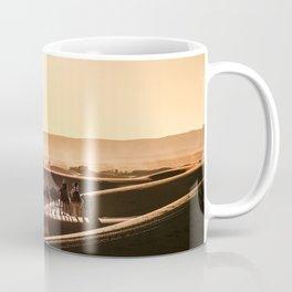 Beautiful Sunset in the Sahara Desert in Morocco| Landscape photography fine art print| Coffee Mug