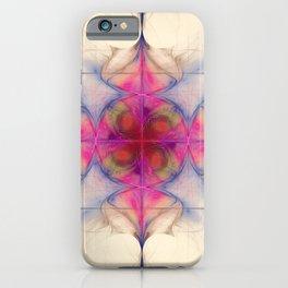 Fractal Art The Cross of Change Nebula iPhone Case