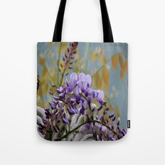Wisteria - photography Tote Bag