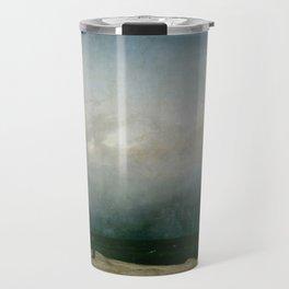 Caspar David Friedrich - The Monk by the Sea Travel Mug