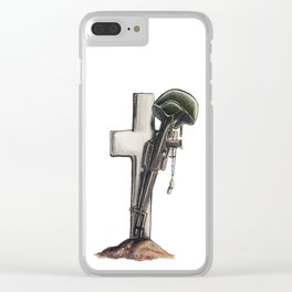Remember the Fallen Clear iPhone Case
