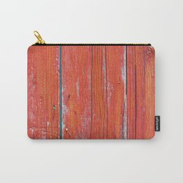 Red Rustic Fence rustic decor Carry-All Pouch
