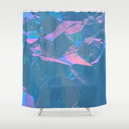 Holographic Artwork No 2 (Crystal) Shower Curtain