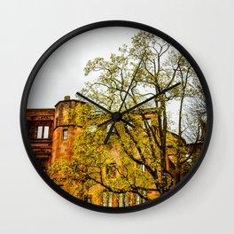 Heidelberg Spring Wall Clock