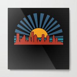 Houston cityscape Metal Print