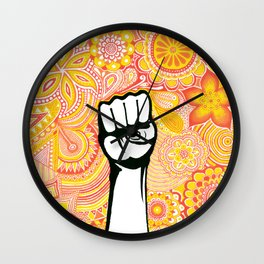 Let's fight ! Wall Clock