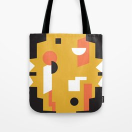 Techno Thunder Tote Bag