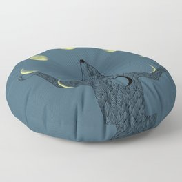 Moon Juggler Floor Pillow