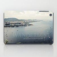 rio iPad Cases featuring Wanderlust {Rio by inourgardentoo