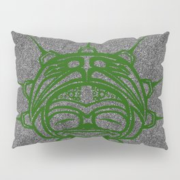 Grass Frog Smoke Pillow Sham