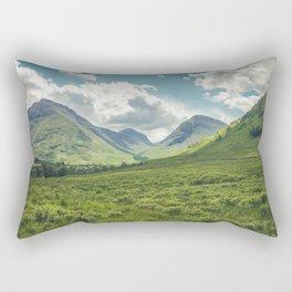 Mountain Spring Rectangular Pillow