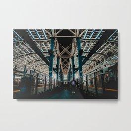 Coney Island Pier Subway Station 2 Metal Print