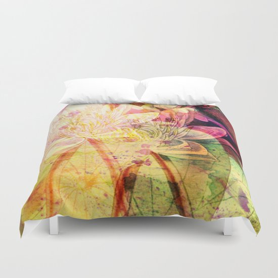waterlily 2 Duvet Cover