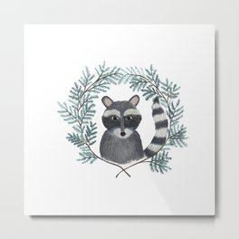 Banjo the Raccoon Metal Print
