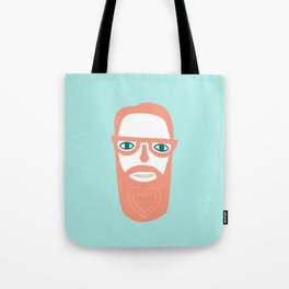 Carry your love in your beard Tote Bag