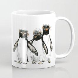 Macaroni Penguin Gang Coffee Mug