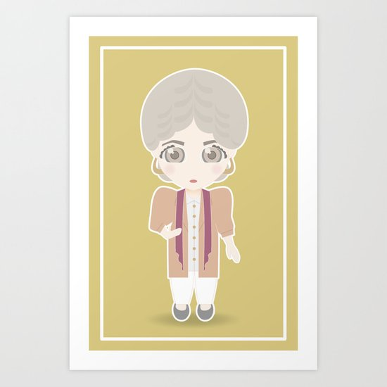 Girls in their Golden Years - Dorothy Art Print