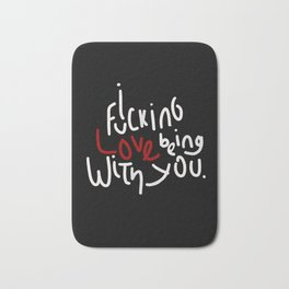 Being with you Bath Mat