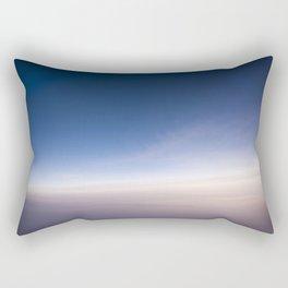 silent morning above Java Rectangular Pillow