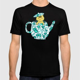Dinnerware sets - Kitten in a teapot T-shirt