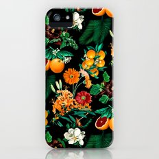 Fruit and Floral Pattern iPhone (5, 5s) Slim Case