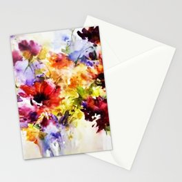 Floral Art Stationery Cards
