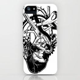 Fahrrad Herz iPhone Case