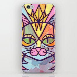 Oda al gato iPhone Skin