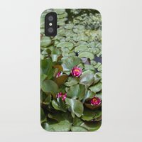 lotus flower iPhone & iPod Cases featuring Lotus by Melissa Schantz Photography