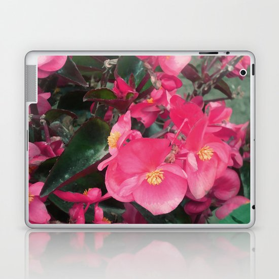 BEAUTIFUL FLOWER Laptop & iPad Skin
