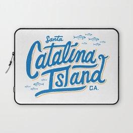 Catalina Island White  Laptop Sleeve