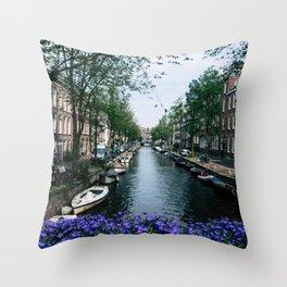 Charming Amsterdam Throw Pillow