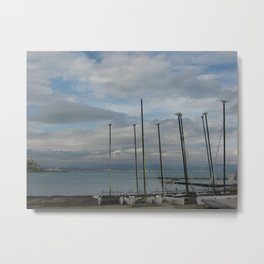 Antibes Sailboats 1 Metal Print