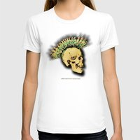 health T-shirts featuring MENTAL HEALTH - 025 by Lazy Bones Studios