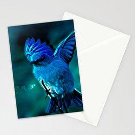 Bird Models: Mountain Bluebird 01-01 Stationery Cards