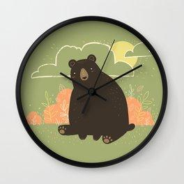 HELLO, BEAR! Wall Clock