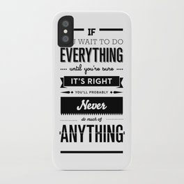 Follow Your Heart's Desire iPhone Case