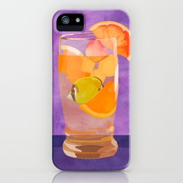 Butterfly Fish Tea by Kenzie McFeely iPhone Case