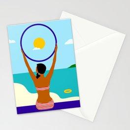 Sunny girl Stationery Cards