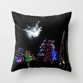Christmas/Hanukkah  Blast (Photo by Valeen Etterlein) Throw Pillow
