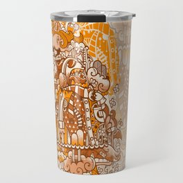 Ginger Monsterous Travel Mug