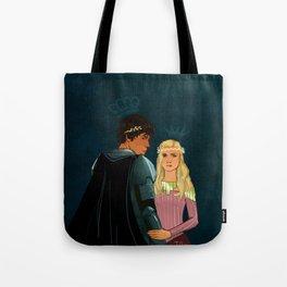The Brave Princess & The Rebel King Tote Bag