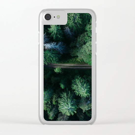 Woods #sky Clear iPhone Case