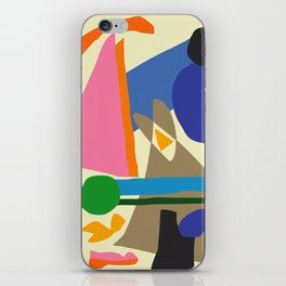 Abstract morning iPhone Skin
