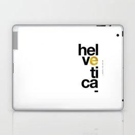 Helvetica Typoster #1 Laptop & iPad Skin
