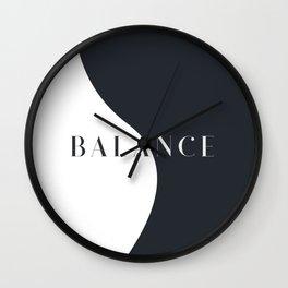 Tunnel Vision - Balance Wall Clock