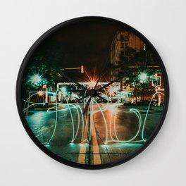 Downtown Fargo Wall Clock